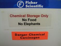DANGER: | I want to work where there is a sign telling me that I can't bring my elephant to work!  Now I want an elephant!