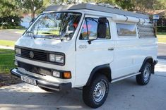 Bid for the chance to own a Modified 1990 Volkswagen Vanagon Syncro Camper at auction with Bring a Trailer, the home of the best vintage and classic cars online. Vw T3 Camper, Vw Bus T3, Volkswagen Routan, Bmw M4, Bentley Continental, Mercedes Amg, Vw T3 Westfalia, Transporter T3, Custom Camper Vans