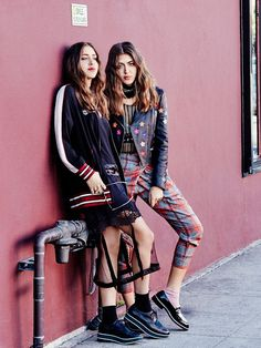 Meet the sisters changing the face of fashion month.