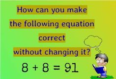 This is Tuesday again, and we are back with a Brain Teaser ! Lets see how many of you can solve this!
