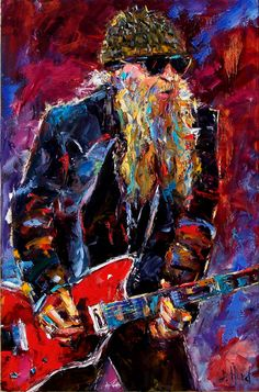 Billy Gibbons (ZZ Top) | by Debra Hurd