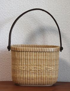Nantucket basket Salt & Pepper as Tote