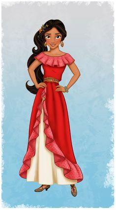 La primera princesa latina. Elena of Avalor en Disney