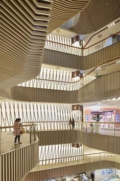 Gallery of World Winners of 2018 Prix Versailles Awards Announced - 21 Shopping Mall Interior, Retail Interior, Interior Shop, Dark Interiors, Shop Interiors, Commercial Architecture, Interior Architecture, Public Architecture, Versailles