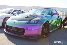 awesome paintjob #350z #nissan #chameleonpaint