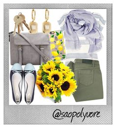 """""""Tuesday (19/7/2016)"""" by saopolyvore ❤ liked on Polyvore featuring Polaroid, Warehouse, Shay, Fendi, Victoria Beckham and Casetify"""