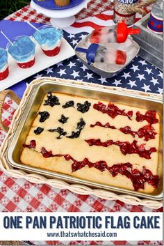 Patriotic One Pan Ca