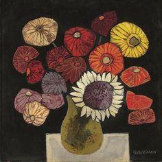 Oswaldo Guayasamín (Ecuadorian 1919-1999)                                                                                                                                                                       Flowers