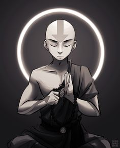 nikoniko808: aang for a patreon commission