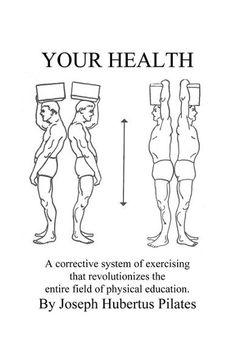 Joseph Pilates, the master of Pilates.