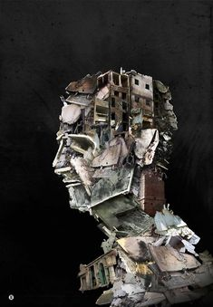 butterfly art projects - Arts The Modern Face of Syria Imranovi's art of war Collages D'images, Collage Art, Digital Collage, Nam June Paik, Street Art, Political Art, Political Events, A Level Art, Arte Pop