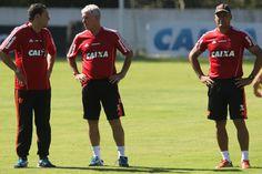 Queda de Felipe Ximenes evidencia poder de Luxa no futebol do Flamengo #globoesporte