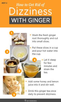 Ginger Remedies for Dizziness  Ginger is an effective remedy used effectively to treat dizziness and nausea. #Dizziness #Ginger #DIYRemedies