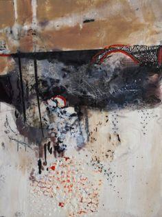 Sue Jensen Art : Bridge 2 --encaustic