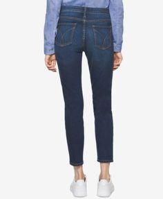 Calvin Klein Jeans Skinny Ankle Jeans - Black 27