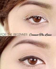 Easy Liquid Liner Techniques: Connect the Lines