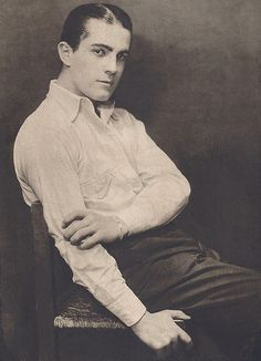 Ramon Novarro by The Loudest Voice, via Flickr