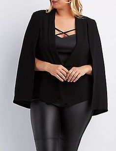 Plus Size Jackets and Blazers | Charlotte Russe