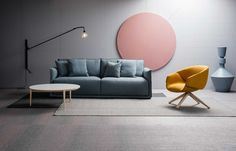 Space uses Bolon flooring for its showrooms in Australia and Malaysia.