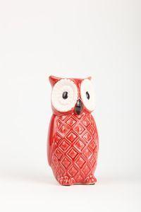 Rachel owl - red | Typo