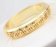 US$24.99 Trendy Hollowed Gold Plated Women Bracelet. #Bracelet #Plated #Trendy #Bracelet