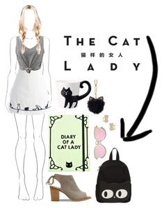 """crazy lady"" by kathrynesker on Polyvore featuring Chicwish, WithChic, TOMS, Valfré, LC Lauren Conrad and Sessions"