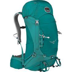 $150. Osprey PacksKyte 36 Backpack - Women's - 2075-2197cu inhttp://www.backcountry.com/osprey-packs-kyte-36-backpack-womens-2075-2197cu-in