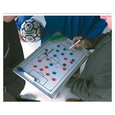 Precision Training  Portable Football Tactics Board Size 30cm x 45cm  ** For more information, visit image link.