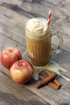 Spiked Apple Cider Float