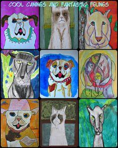 MaryMaking: Felines + Canines