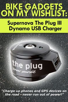Supernova The Plug 3 USB Charger is featured in my list over Best Bike Gadgets for Cycling in 2017. Cool bike gadgets I like. #gadgets #bike #cycling #roadtrip #bestgadgets #coolgadgets #training #riding #bicycle #devices #aids #help #giftideas #newfitnessgadgets #health #heart #road #supernova #theplug3