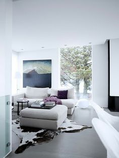 Interior Designer, Rut Karadottir's home in Reykjavik
