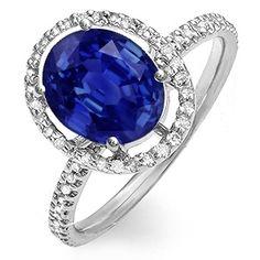 Kay sapphire ring