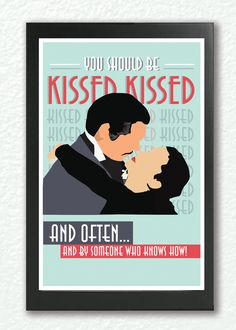 Gone With the Wind,Classic Movie Poster #quote #poster #romantic