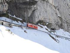 Mount Pilatus with the world's steepest cogwheel railway open in the 1889.  #Switzerland #Tours