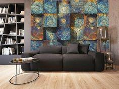 Image IMG 4954 in Interior design album 3d Wallpaper Design, 3d Wallpaper For Walls, Small Living Rooms, Living Room Designs, 3d Wall Murals, Tiny Spaces, Furniture Decor, Decorating Your Home, Interior Design