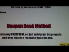 Coupon Book Method - YouTube