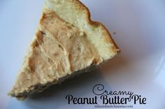 Creamy Peanut Butter Pie is the perfect make ahead dessert for Thanksgiving!