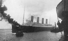 April 10, 1912: Titanic departing Southampton.
