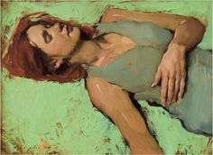painting by Malcolm Liepke; I feel this way all too often these days. And that's okay. We can only be where we are, sit with it, and move on.