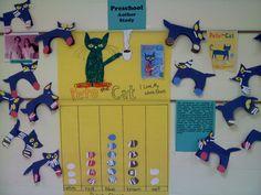 We Love Pete The Cat!  Try it in your preschool room!