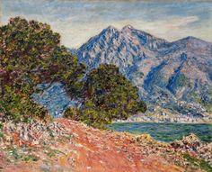 Cap Martin 2, 1884, Claude Monet