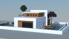minecraft modern traditional house - Google Search