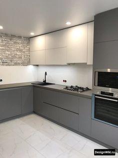 Kitchen Cupboard Designs, Kitchen Room Design, Modern Kitchen Design, Kitchen Layout, Home Decor Kitchen, Interior Design Kitchen, Kitchen Modular, Modern Kitchen Interiors, Cuisines Design