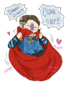 Stephen and his cloak.  @dr.strange.ironman follow for more #stephenstrange #doctorstrange  Stephen and his cloak.  @dr.strange.ironman follow for more #stephenstrange #doctorstrange #stephenandcloak #cute #angrystephen