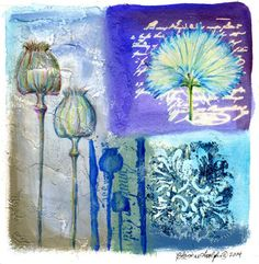 Christine Adolph - floral and nature art; a series of journal pages