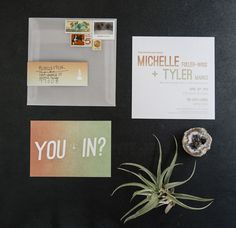 ombre invitation marfa