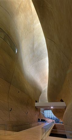 Lahdelma & Mahlamäki + Kuryłowicz & Associates: ceiling Museum of the History of Polish Jews