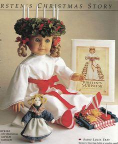 Retired American Girl Kristen - no longer available for purchase Christmas story