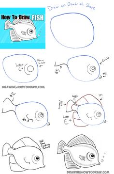 how to draw a realistic jellyfish step by step